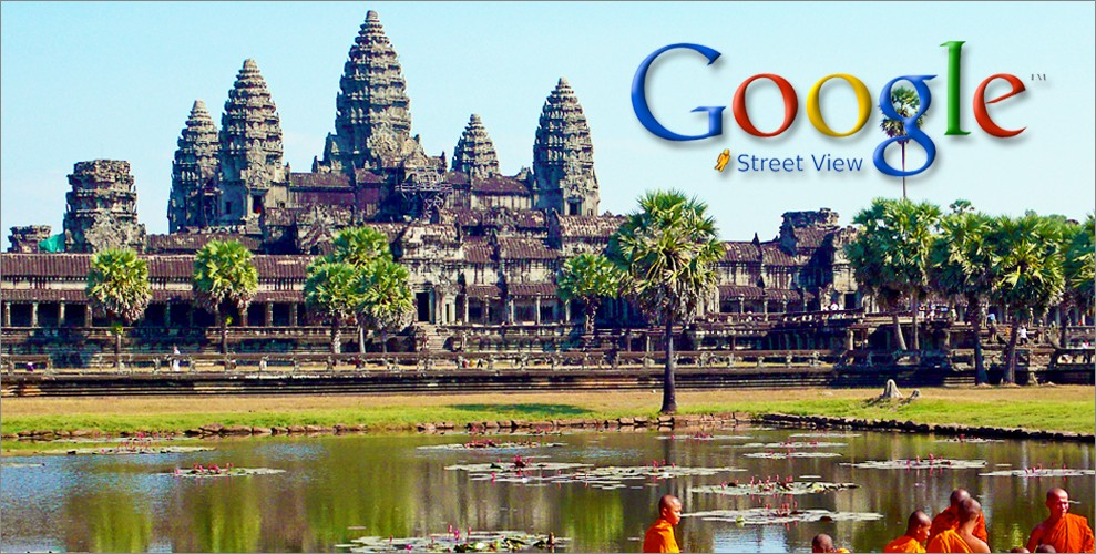 Google Street View: Angkor Launch