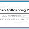 BarCamp Battambang 2018 is here!