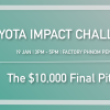 Toyota Impact Challenge: The $10,000 Final Pitch