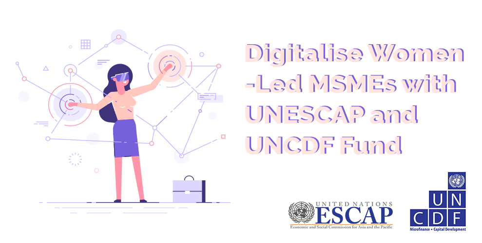 Digitalise Women-Led MSMEs with the Women MSME FinTech Innovation Fund!