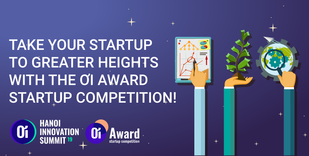 (English) Hurry! Just A Few Days Left To Apply For The ƠI Award Startup Competition!