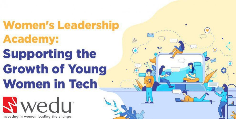 (English) Wedu's Women's Leadership Academy: Supporting the Growth of Young Women in Tech