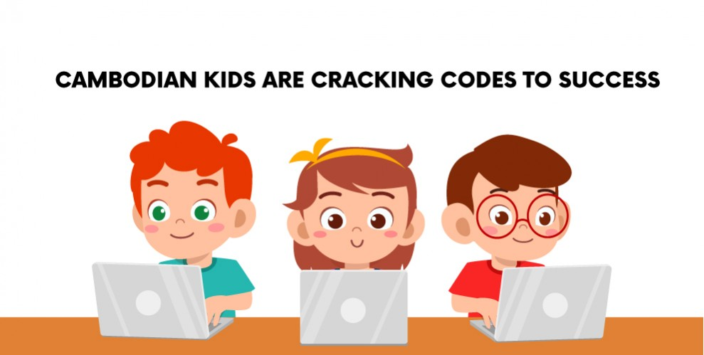 (English) CAMBODIAN KIDS ARE CRACKING CODES TO SUCCESS