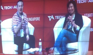 Daphne Lee, Director of overseas business at 淘寶網官方 Taobao, interviewed by Steven Millward, Editor at Tech in Asia