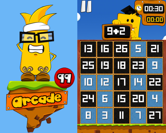 numbees mobile game