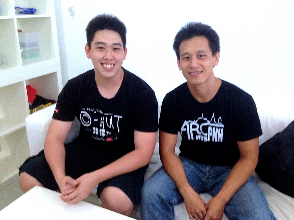 Arc Hub PNH Founders & Brothers KiHow Tran and Ki Chong Tran