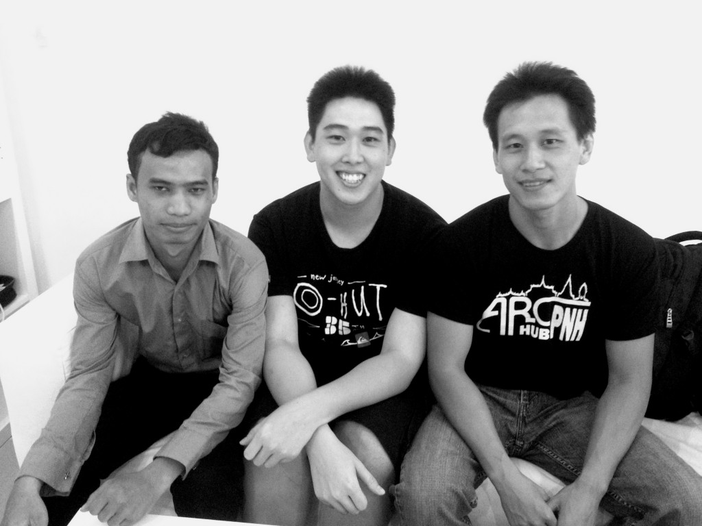 The Geeks In Cambodia team with Arc Hub PNH