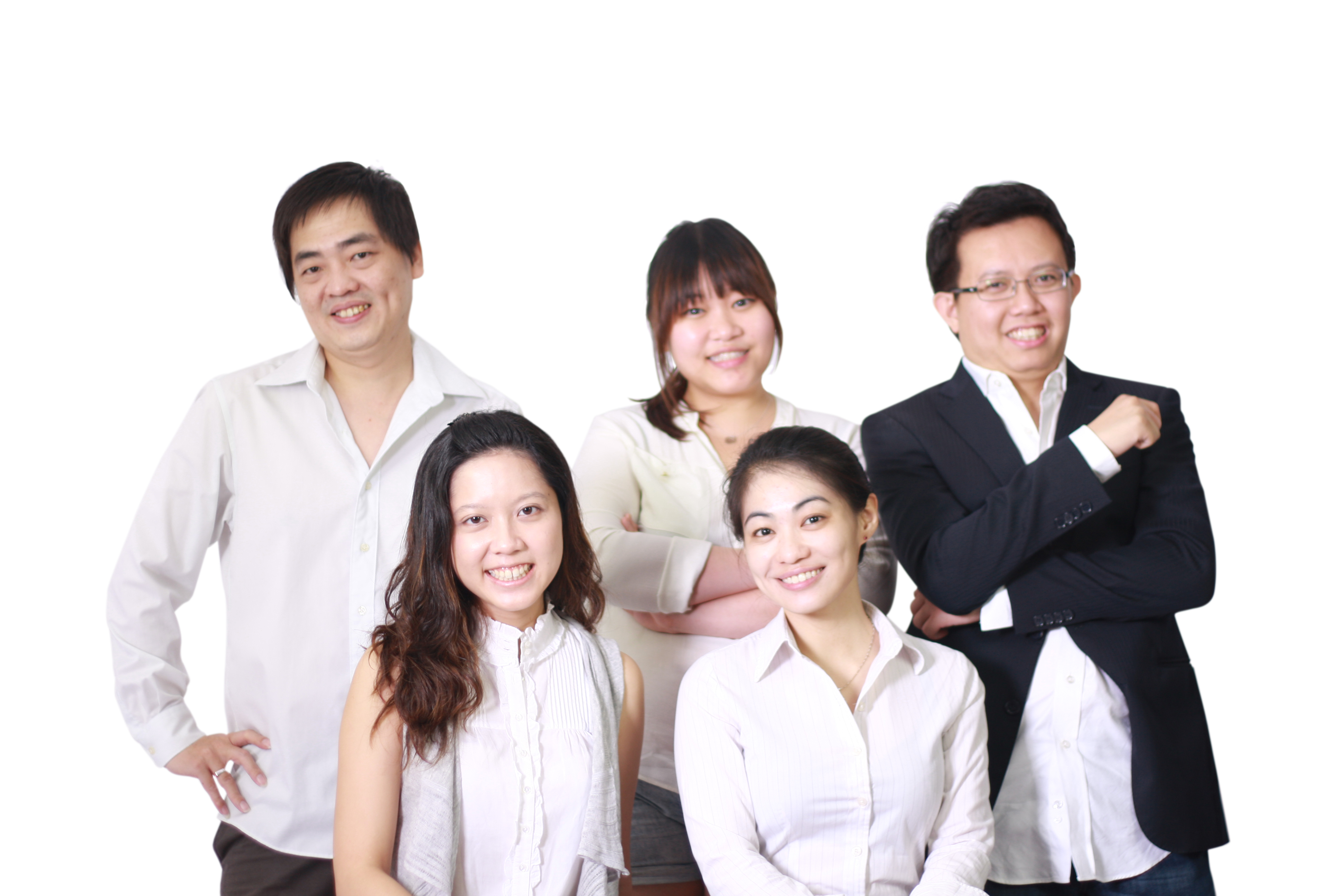 The team behind Wedding.Com.My, with Petrina (bottom left) and Kelvin (top right). / Photo Credits: Wedding.Com.My