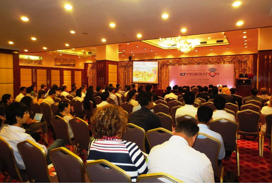 More than 100 participants from both local and international technology companies in attendance