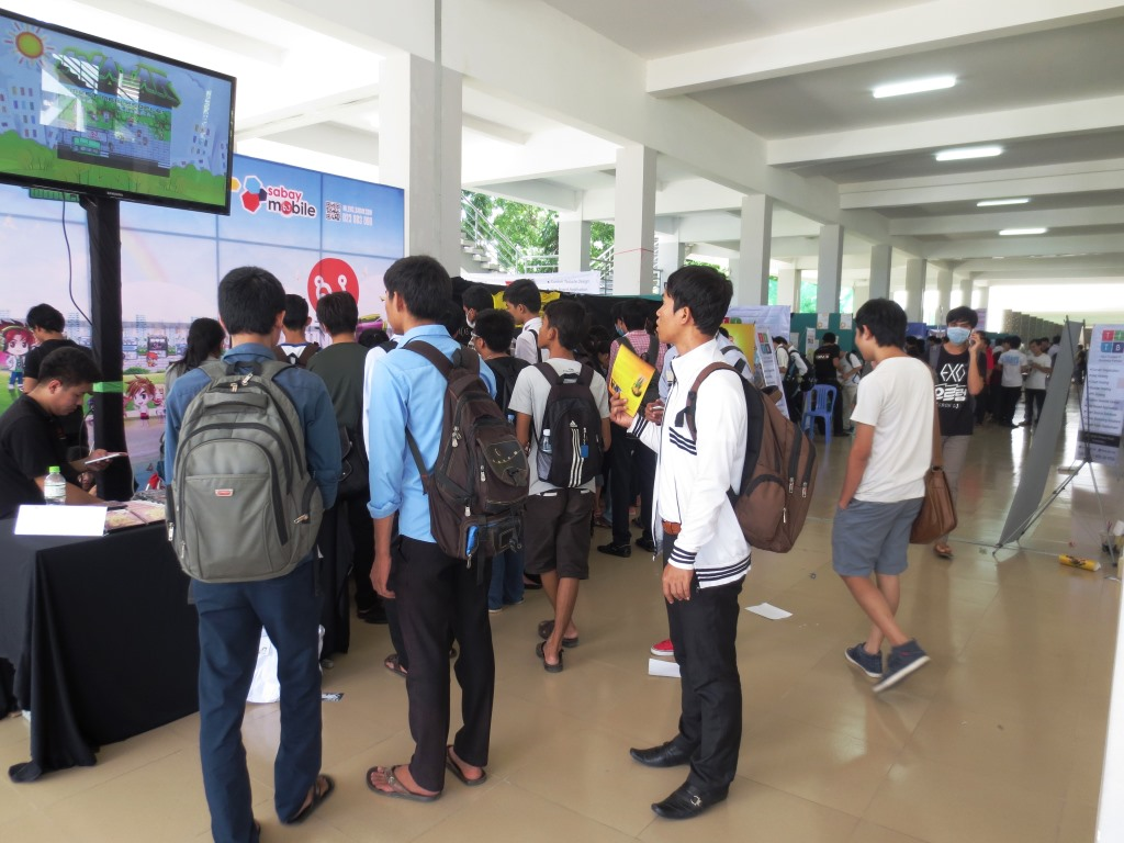 Over 3500 participants showed up on this conference at the Exhibition hall
