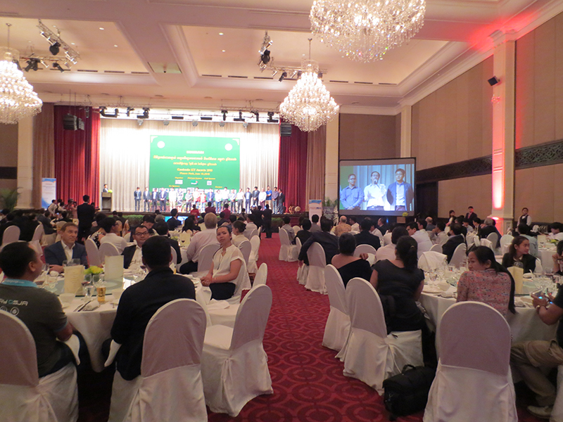 Participants at the Cambodia ICT Awards