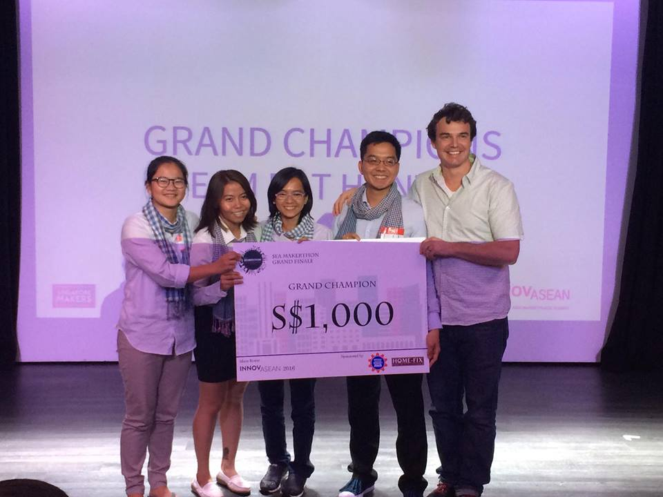Team Rat Hunter were announced as Grand Champions of the Makers Summit
