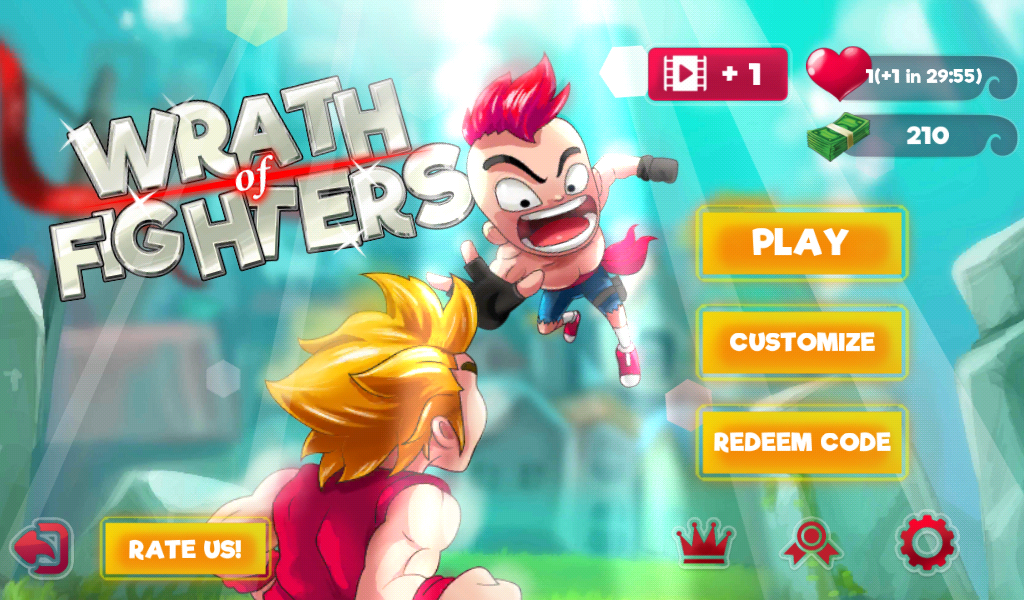Wrath of Fighters, a multiplayer game released by Direxplay