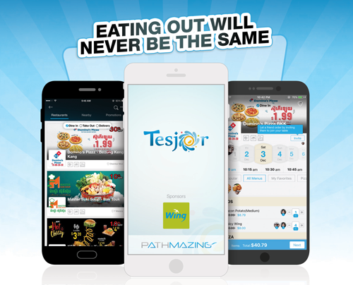 A preview of the Tesjor application