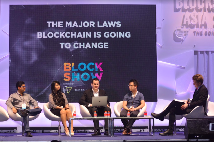Participants present got to hear from Blockchain experts themselves about their knowledge and experiences