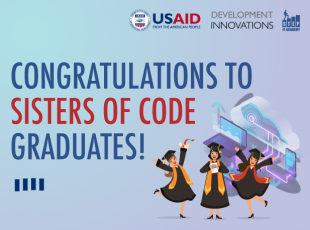 Happy Graduation! Sisters Of Code Students Showcase Final Works